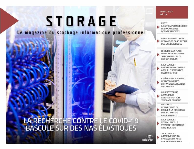 Couverture du magazine Storage 26